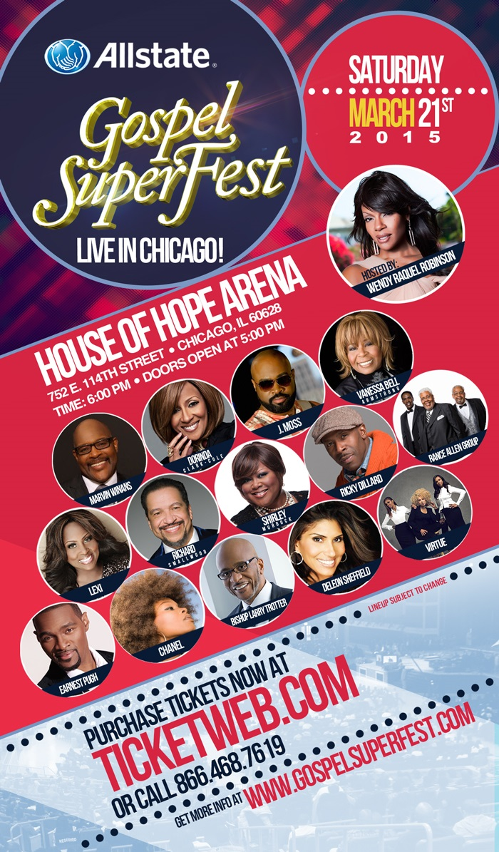 Allstate Gospel Superfest Battle of the Bands 2014